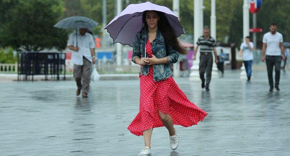 İstanbul, yağmur