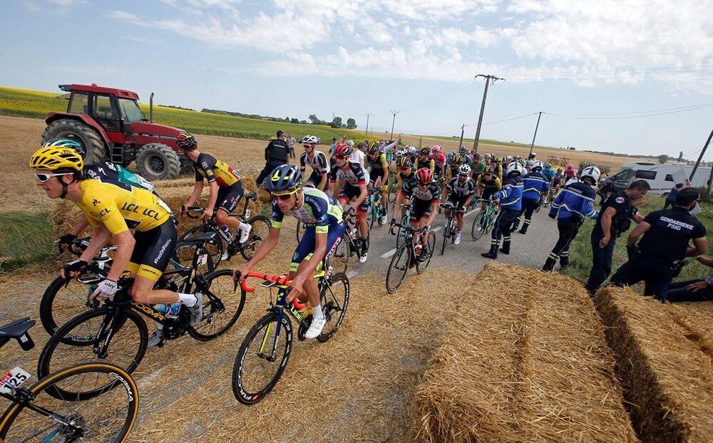 Eylemin sona ermesinin ardından yarış kaldığı yerden devam etti.