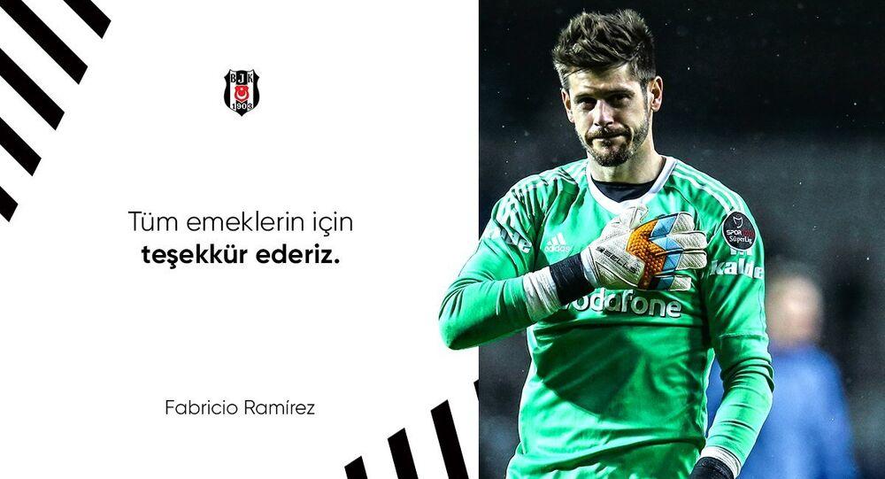 Fabricio'nun Beşiktaş'tan Fulham'a transferi tamamlandı.