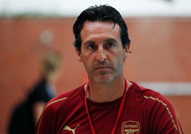 Arsenal'in teknik direktörü  Unai Emery
