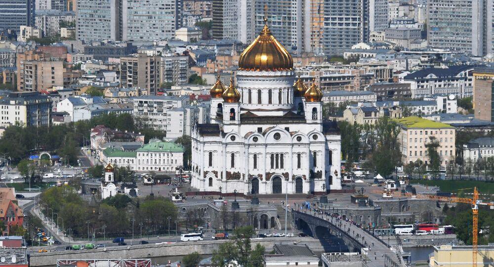 Kuşbakışı görünümünden Moskova
