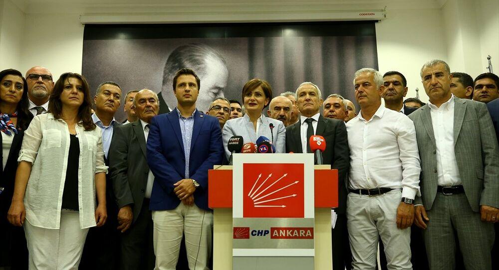 CHP, 59 il başkanı, kurultay açıklaması