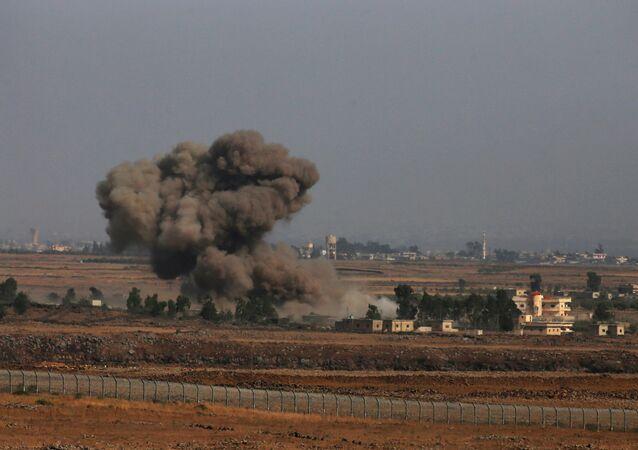 İsrail- Suriye sınırı