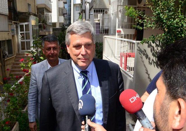 ABD'nin Ankara Büyükelçiliği Maslahatgüzarı Philip Kosnett
