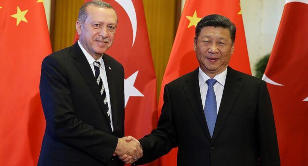 Cumhurbaşkanı Erdoğan, Çin Devlet Başkanı Şi ile bir araya geldi