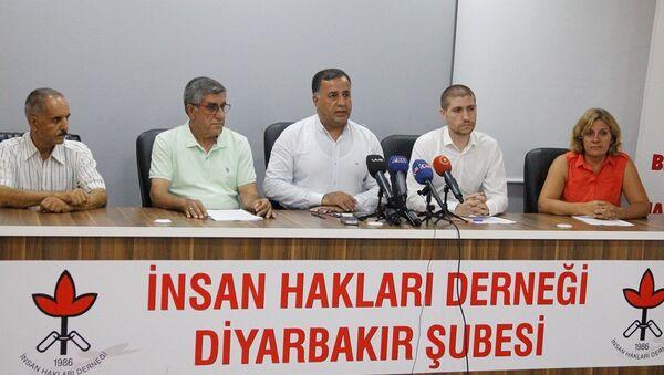 İHD Şube Başkanı Abdullah Zeytun - Sputnik Türkiye