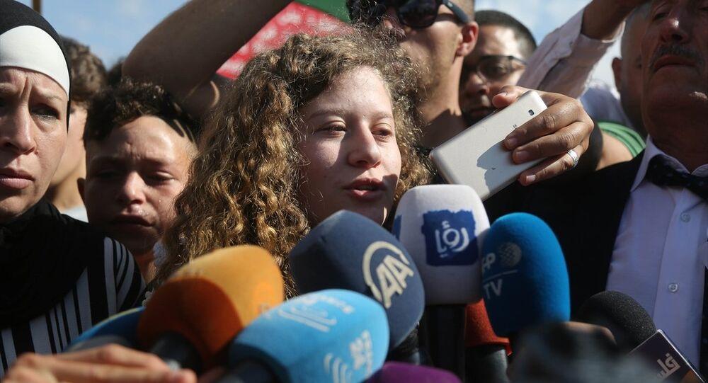 Tamimi, serbest kalması sonrası gazetecilere açıklamalarda bulundu. Direniş, işgal sona erene dek sürecek diyen Tamimi Tüm kadın mahkumlar kararlı. Beni ve davamı destekleyen herkesi selamlıyorum ifadelerini kullandı.
