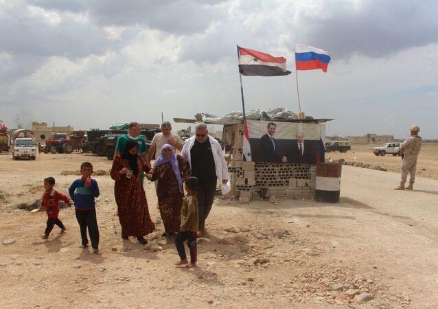 İdlib'deki halkın Rusya yardımıyla dönüşü