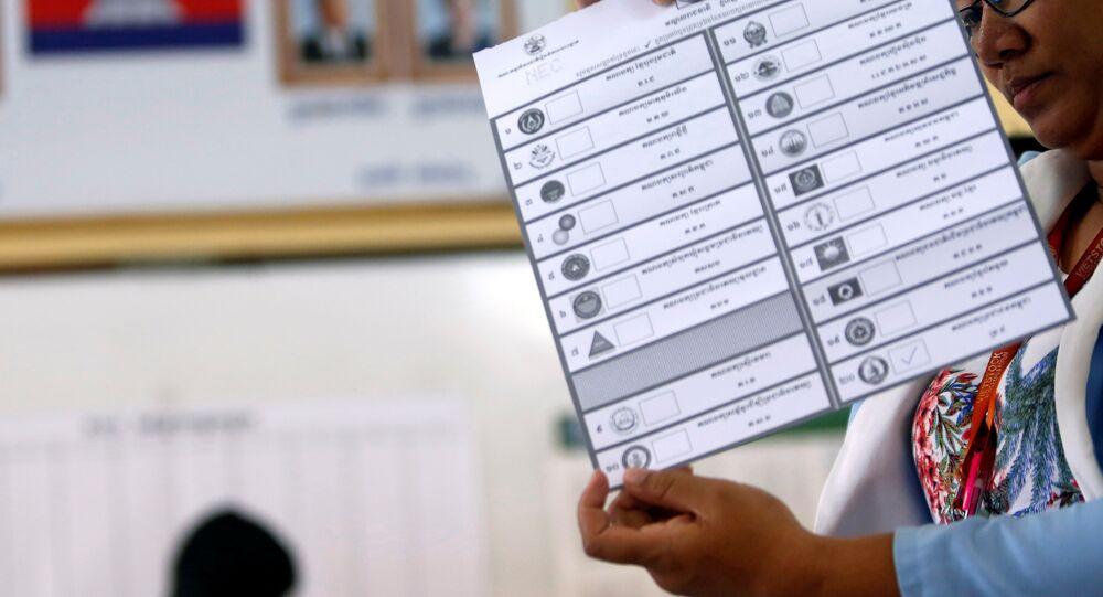 Kamboçya'da seçim