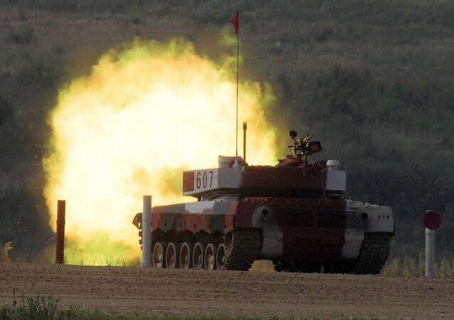 2018 Uluslararası Ordu Oyunları: Tank biatlonu