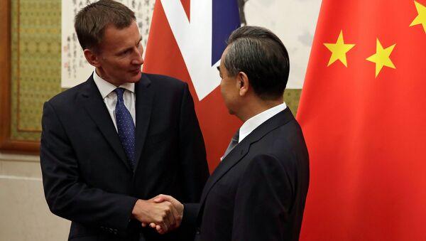 Pekin'de Jeremy Hunt-Wang Yi görüşmesi - Sputnik Türkiye