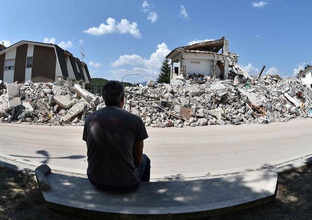 İtalya, Amatrice'deki deprem