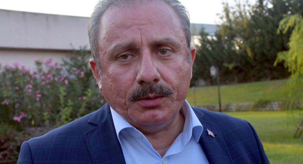TBMM Başkanvekili Mustafa Şentop