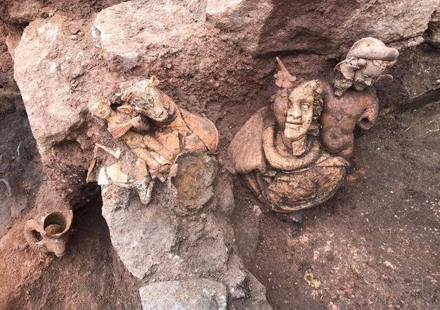 Bereket Tanrısı Dionysos'un heykeli bulundu