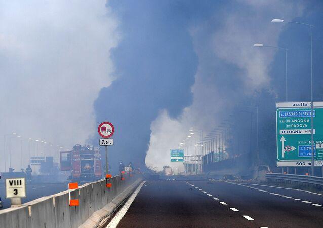 Bologna'da patlama