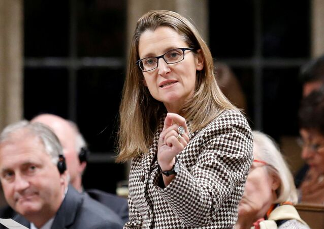 Chrystia Freeland (File)