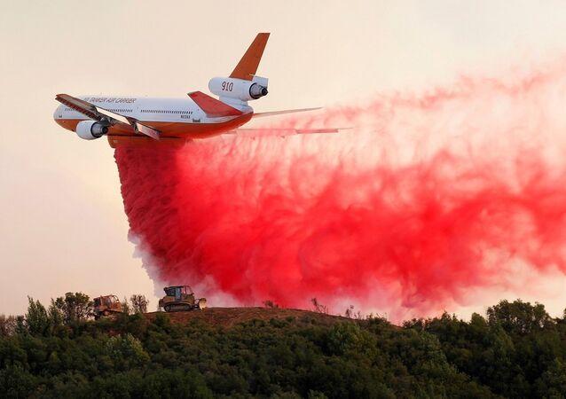 ABD, Kaliforniya, yangın