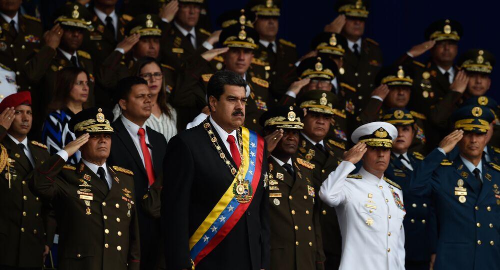 Venezüella Devlet Başkanı Nicolas Maduro