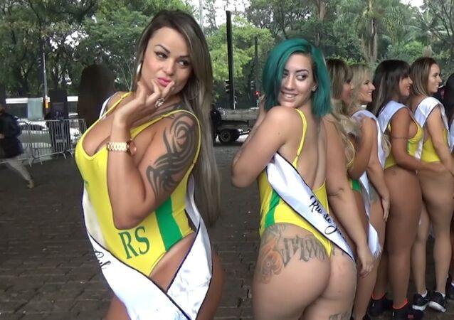 Brezilya'da 'Miss Bum Bum' heyecanı