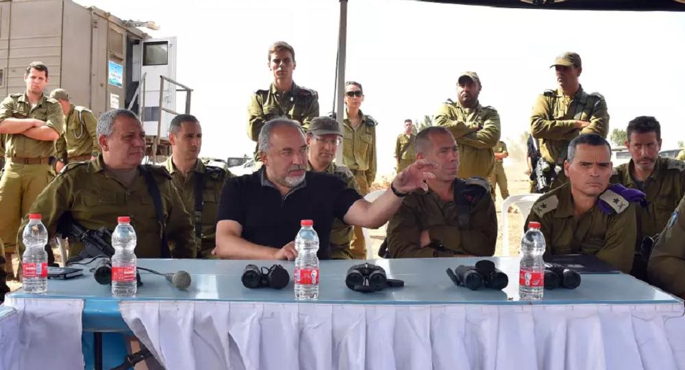İsrail Savunma Bakanı Avigdor Lieberman
