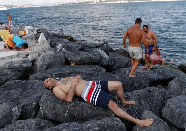 İstanbul- Sıcak hava