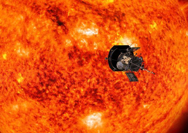 NASA'nın Parker Solar Probe adlı uzay aracı