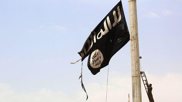 IŞİD bayrağı - Sputnik Türkiye