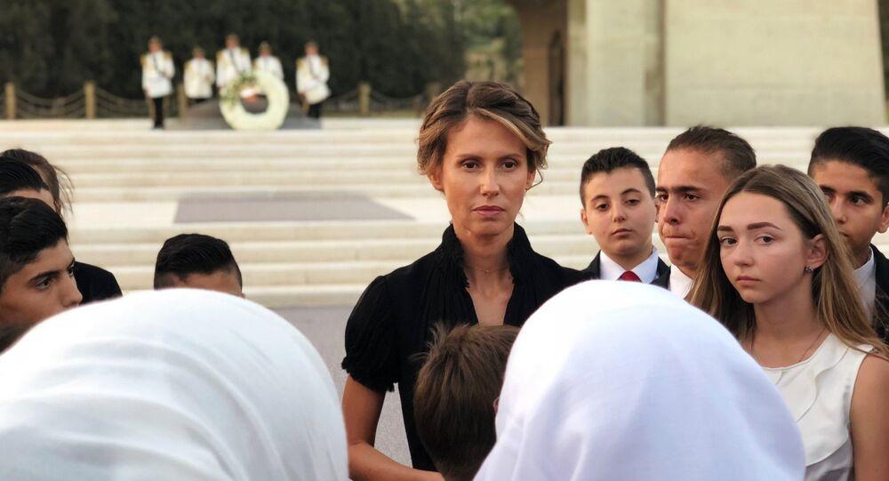 Suriye'nin First Lady'si Esma Esad