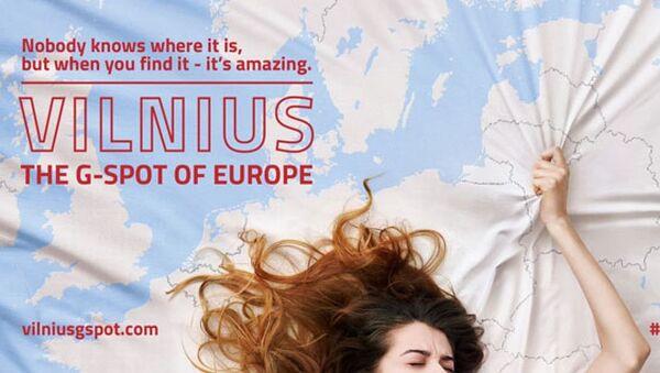 'Avrupa'nın G noktası Vilnius' reklamının posteri - Sputnik Türkiye