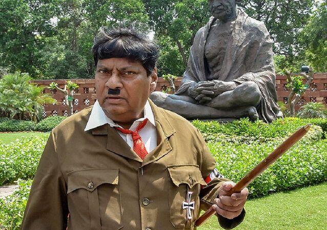 Hindistan'da Telugu Desam Partisi (TDP) milletvekili Naramalli Sivaprasad