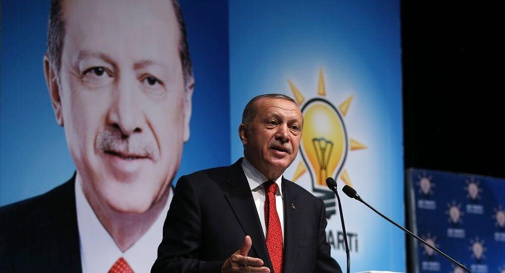 AK Parti Genel Başkanı, Cumhurbaşkanı Recep Tayyip Erdoğan, AK Parti Rize İl Başkanlığı Genişletilmiş İl Danışma Meclisi Toplantısı'na katılarak konuşma yaptı.
