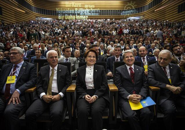 İYİ Parti Olağanüstü kurultayı-Meral Akşener
