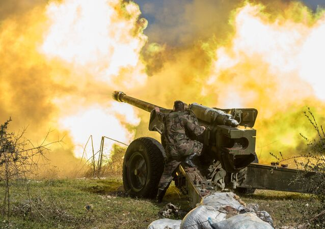 İdlib'de Suriye ordusu askeri