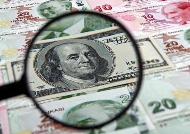 dolar, tl