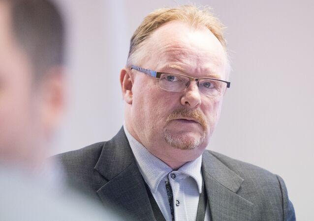 Eski Norveç Balıkçılık Bakanı Per Sandberg