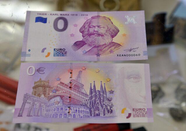 Karl Marx banknotu