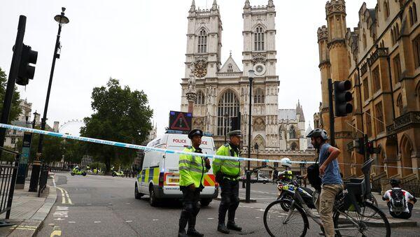 Londra'da parlamento binası bariyerlerine çarpan sürücü, 'terör suçları şüphesiyle' tutuklandı - Sputnik Türkiye