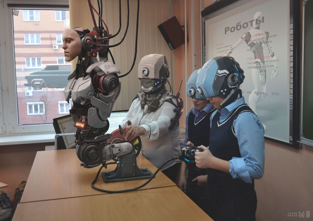 Russia 2077 projesinden bir kare