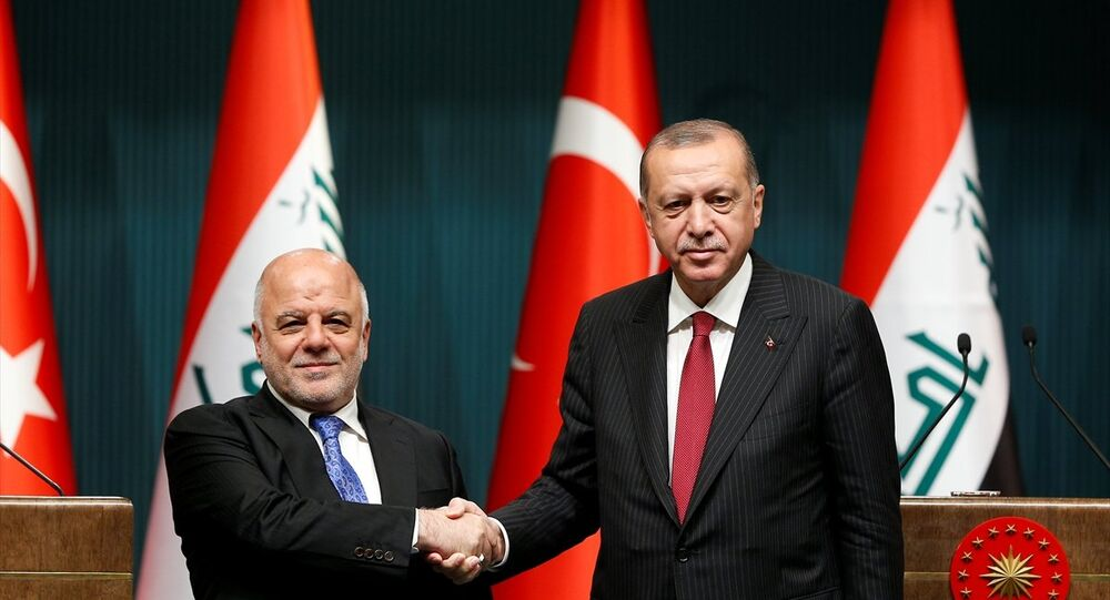 Erdoğan, Irak Başbakanı İbadi ile ortak basın toplantısı düzenledi