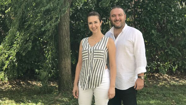 Türkiye'nin Kadın Ustaları Projesi kurucuları Seyhun Ayhan ve Sibel Ayhan - Sputnik Türkiye