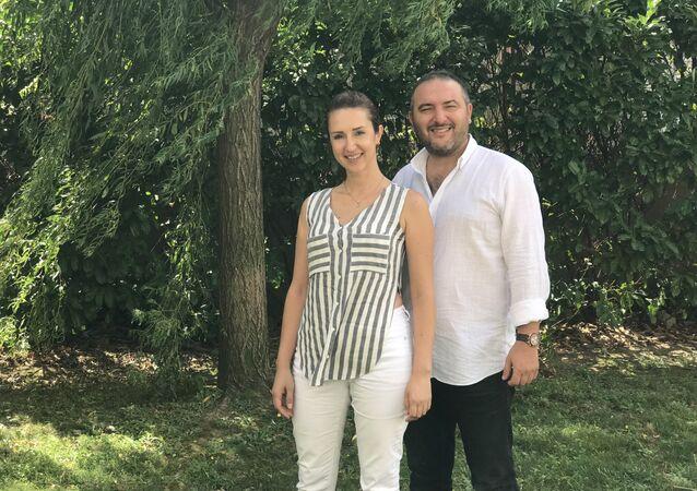 Türkiye'nin Kadın Ustaları Projesi kurucuları Seyhun Ayhan ve Sibel Ayhan