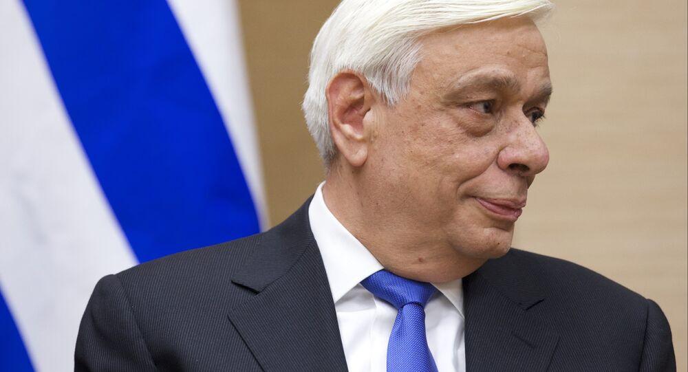Yunanistan Cumhurbaşkanı Prokopis Pavlopulos