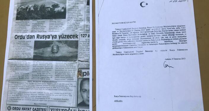 Rus Gezgin Yuriy Aleksandroviç Burlak'ın 2013'teki Ordu-Soçi arası yüzme macerasıyla ilgili basına da çok sayıda haber yansımış.