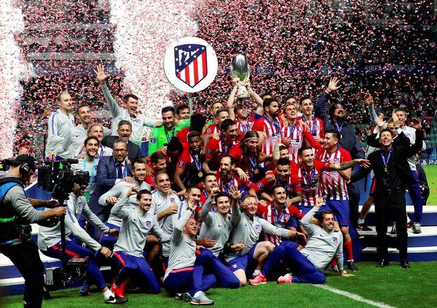 UEFA Süper Kupası Atletico Madrid'in