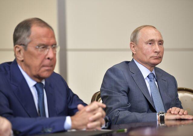Rusya Dışişleri Bakanı Sergey Lavrov- Rusya Devlet Başkanı Vladimir Putin