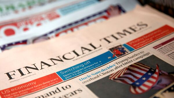 Financial Times - Sputnik Türkiye