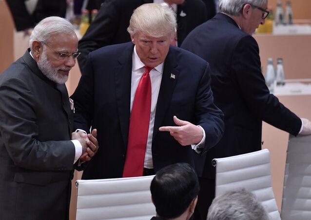 ABD Başkanı Trump ve Hindistan Başbakanı Modi