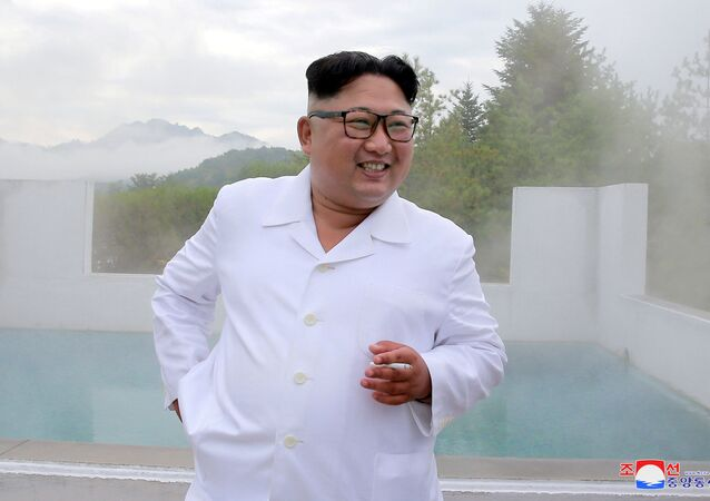 Kuzey Kore lideri Kim Jong-un Yangdok-gun'daki kaplıcaları ziyaret etti