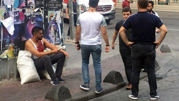 İstanbul'da turistler arasında kavga çıktı - Sputnik Türkiye