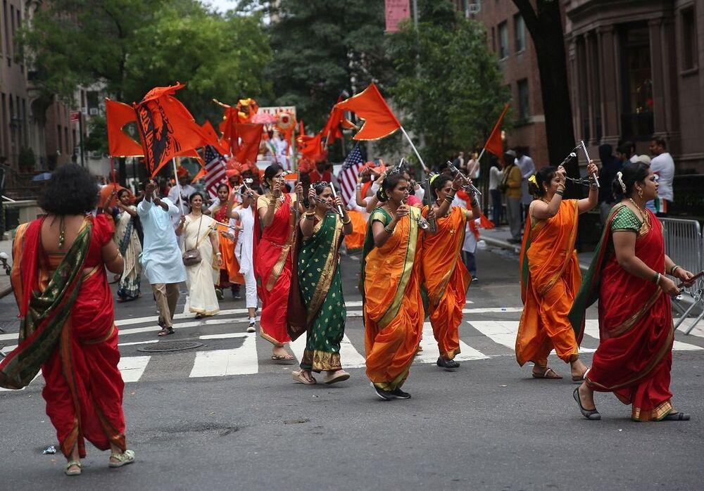 New York sokaklarında Hindistan rüzgarı